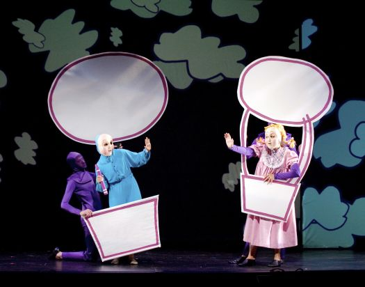 Popular children's book The Adventures of Harold and the Purple Crayon comes to life on stage at The Ridgefield Playhouse on Sunday, January 18