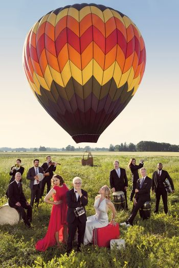 An evening with Pink Martini featuring vocalist China Forbes, plus art & wine, at The Ridgefield Playhouse on Thursday, September 25