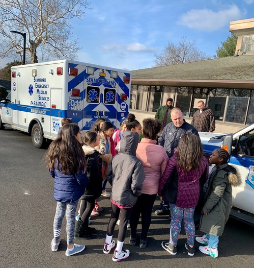 Stamford EMS & The Boys & Girls Club Partner to Make the City Safer  Stamford EMS Teaches Kids CPR and How to Call 911