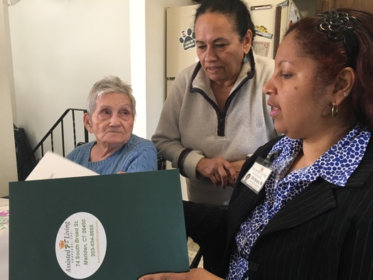 State Program Pays CT Families to Care for Elderly Relatives from Puerto Rico