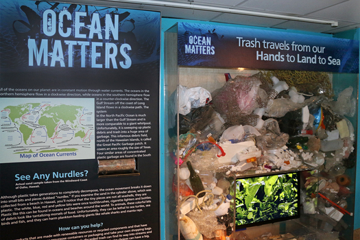 Maritime Aquarium eliminates nearly all single-use plastics from its operations