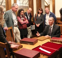 cropped_george_miles_rare_book_curator_from_yale_university_talks_at_pequot_library_about-the_columbus_letter.jpg