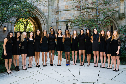 The New Blue - Yale's oldest female a cappella group to perform at the Pequot Library